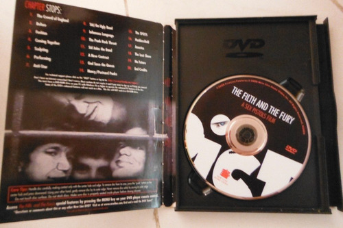 dvd the filth & the fury a sex pistols film import usa punk