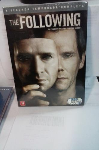 dvd the following 2º temporada 4 discos