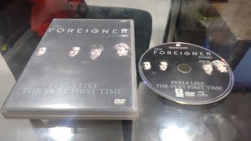dvd the foreigner story en formato dvd