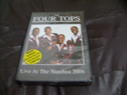 dvd the four tops live at the stardust 2006 lacrado-e3be