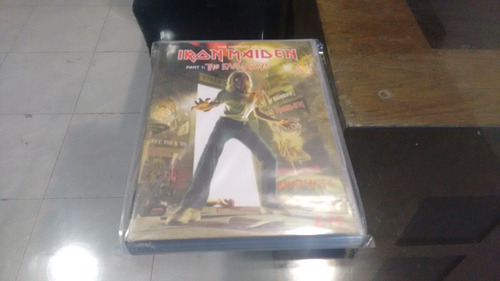 dvd the history iron maiden part 1 early year en formato dvd