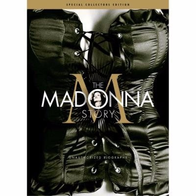 dvd the madonna story + cd the unauthorized biography