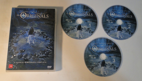 dvd - the originals 4ª e 5ª temporada completa - legendado
