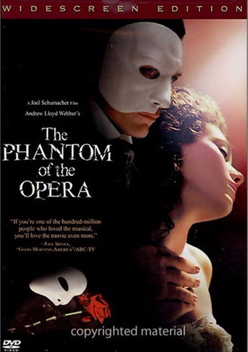 dvd the phantom of the opera / el fantasma de la opera  2004