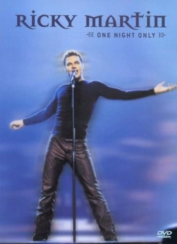 dvd the ricky martin one night only