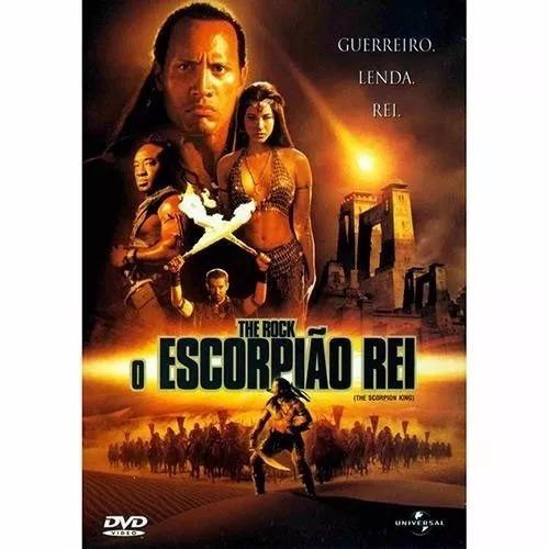 dvd  the rock o escorpião rei --- novo lacrado