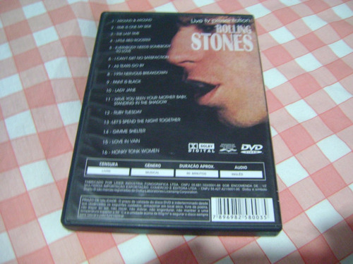 dvd the rolling stones 16 grandes sucessos