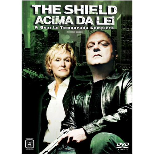 dvd the shield - 4ª temporada completa