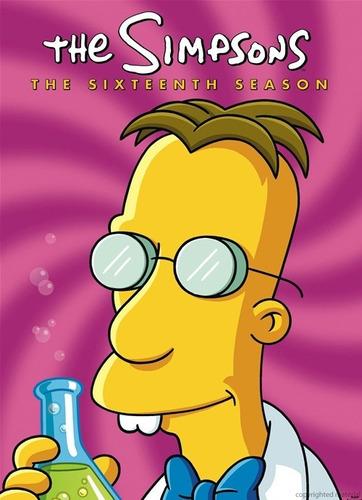 dvd the simpsons season 16 / los simpson temporada 16