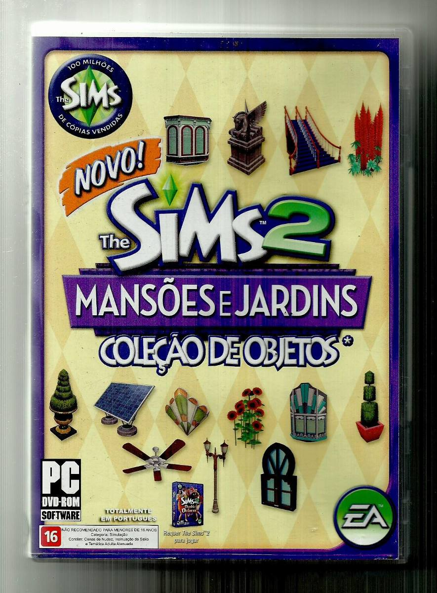 the sims 2 mansoes e jardins