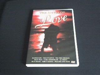 dvd  the songs of love  (original)