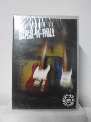 dvd the spirit of rock n roll vol.1 - lacrado - frete: 8,00