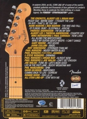 dvd - the strat pack - vs. interpretes - nuevo - envios.-