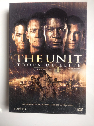 dvd the unit tropa de elite temporada 1