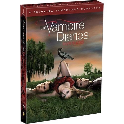 dvd  - the vampire diaries - 1º temporada - lacrado