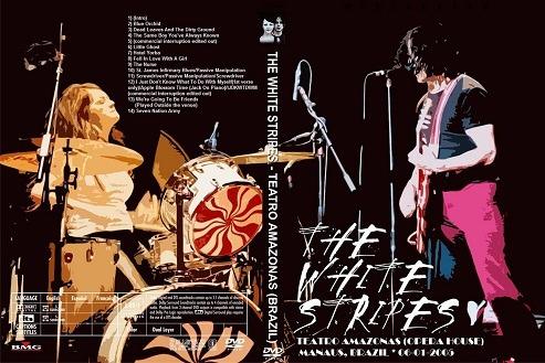 dvd the white stripes teatro amazonas (brazil)