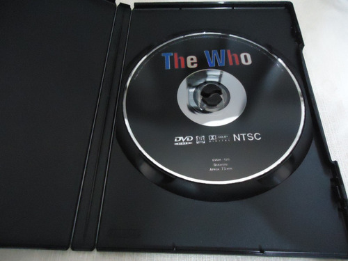 dvd -  the who - 20 sucessos