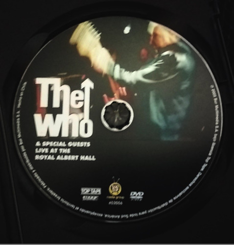 dvd the who live at the royal albert hall dolby 5.1 144 min.
