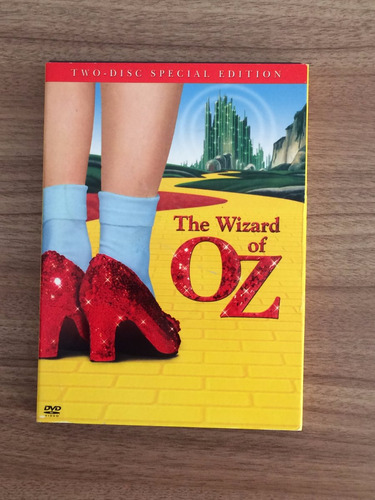 dvd the wizard of oz (two-disc special edition) [importado]