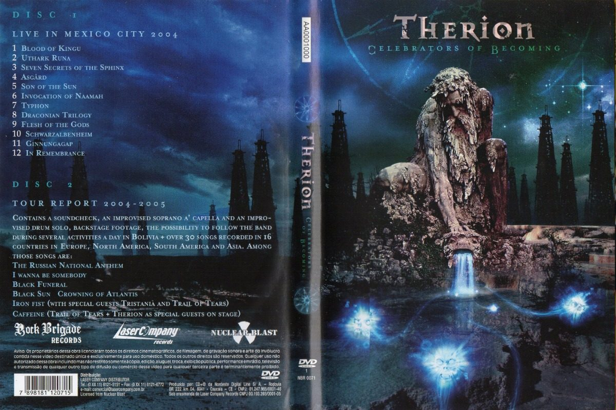 therion celebrators of becoming dvd