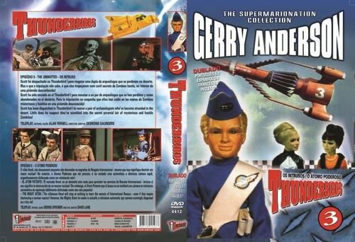 dvd thunderbirds 3 - dublado