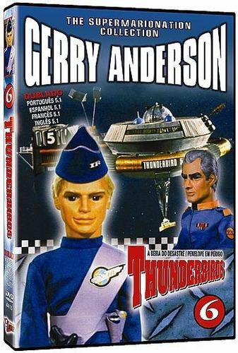 dvd thunderbirds 6 - dublado