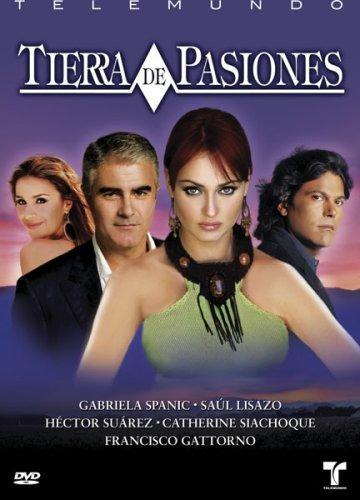 dvd : tierra de pasiones (full frame, , sensormatic, che...