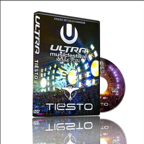 dvd tiesto ao vivo ultra music festival 2014