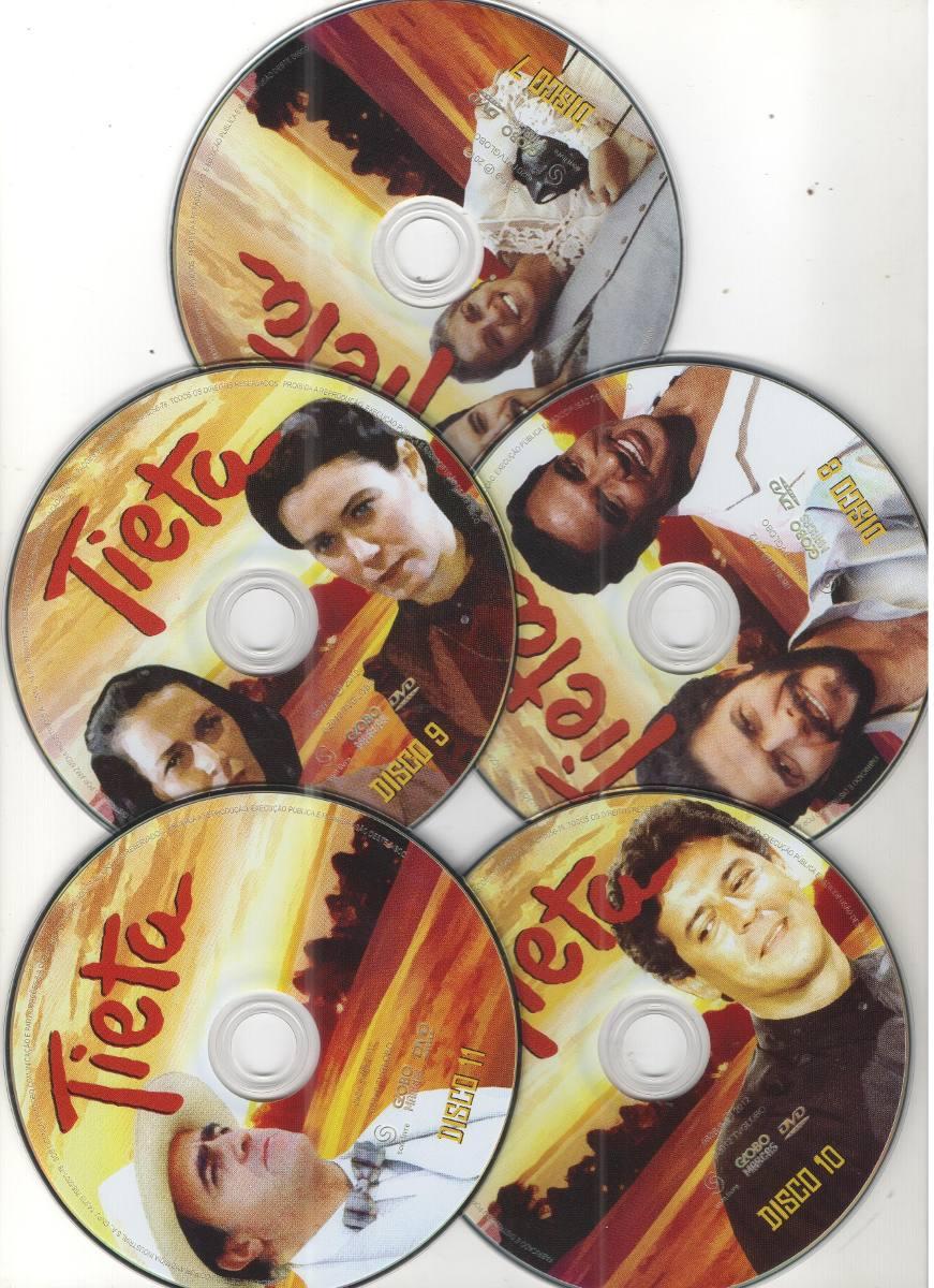 o dvd da novela tieta