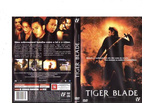 dvd tiger blade, ação, dublado, artes marciais, original
