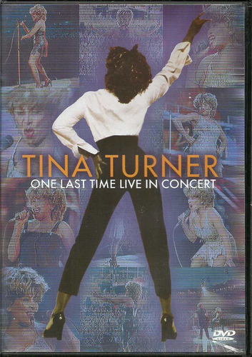 dvd tina turner - one last time live in concert - 2000