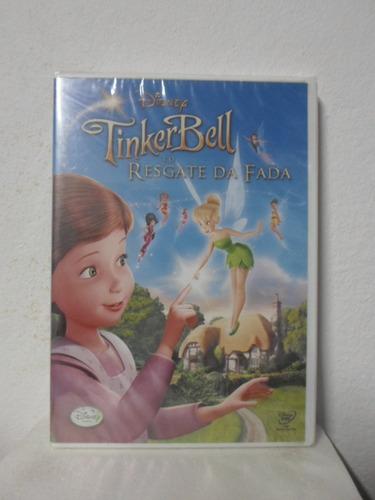 dvd tinker bell e o resgate da fada - lacrado - original