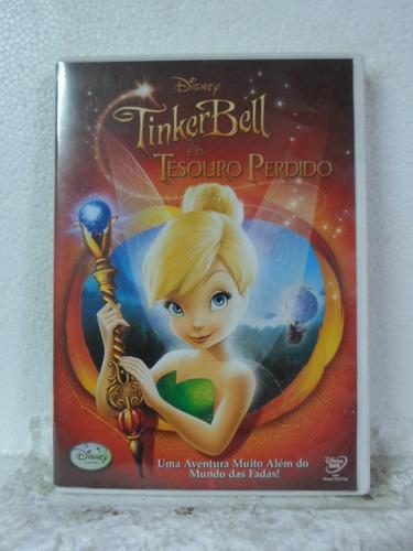 dvd tinker bell - e o tesouro perdido - original