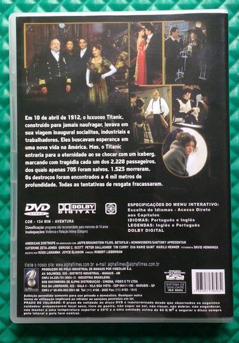 dvd titanic - catherine zeta-jones