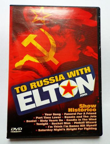 dvd to russia with elton john