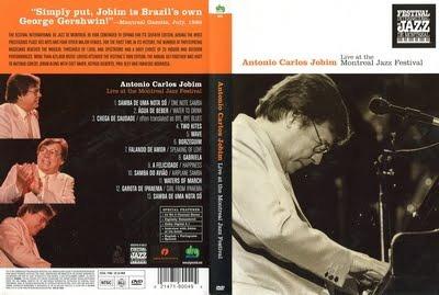 dvd tom jobim - ao vivo em montreal (1986) rarissimo