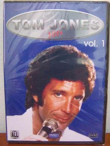 dvd tom jones hits volume 1 p/ colecionador raro musical