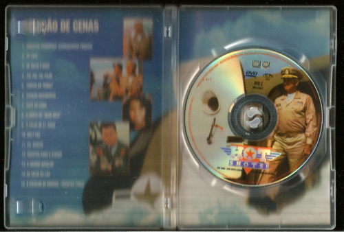 dvd top gang - ases muito loucos - impecável