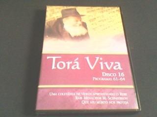 dvd torá viva -  vol 16