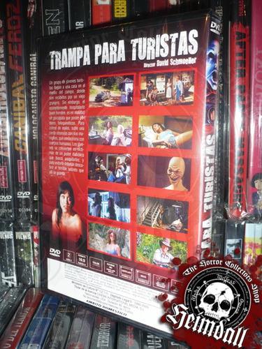 dvd tourist trap trampa para turistas r2 slasher gore jason