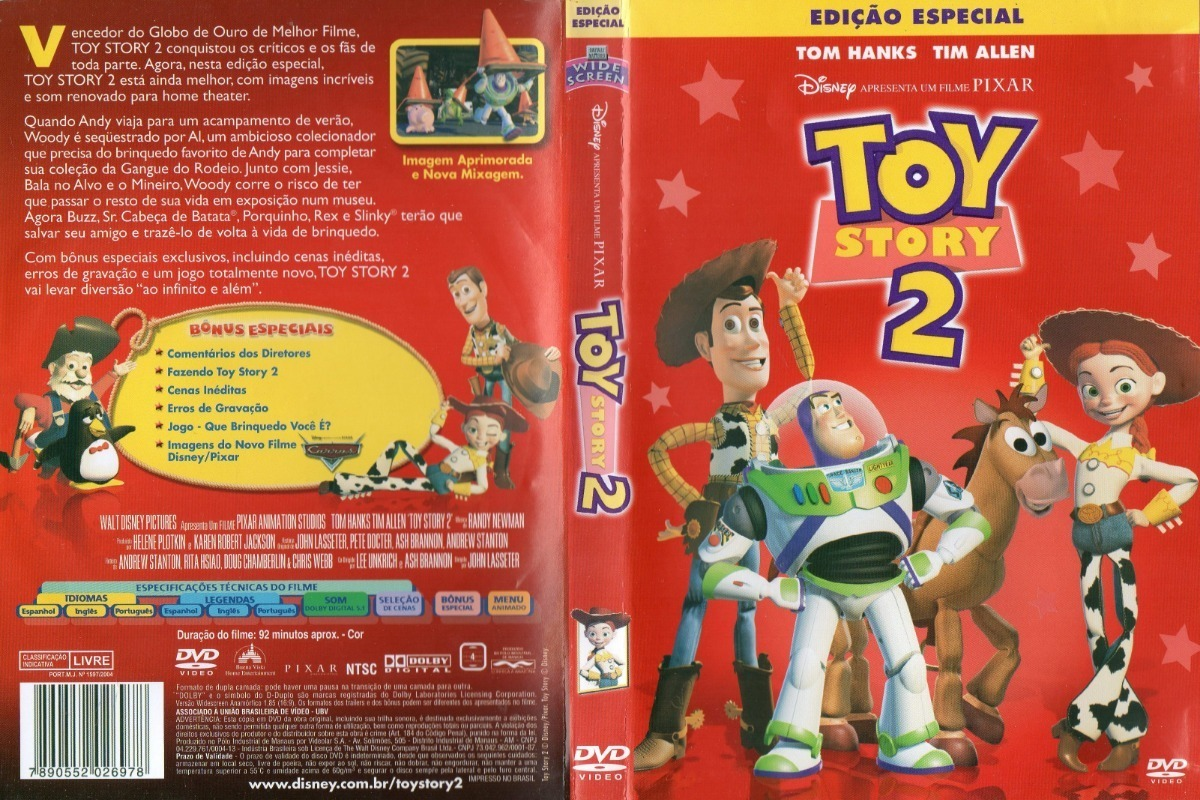 Dvd Toy Story 2 Edicao Especial R 20 00 Em Mercado Livre