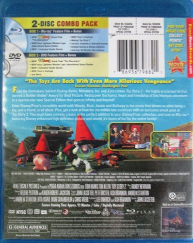 dvd toy story special edition