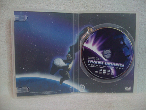 dvd transformers- beast machine- temporada 1- volume 1