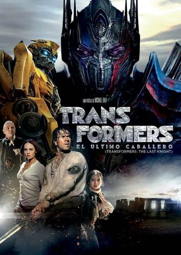 dvd transformers el ultimo caballero 5 cerrado original