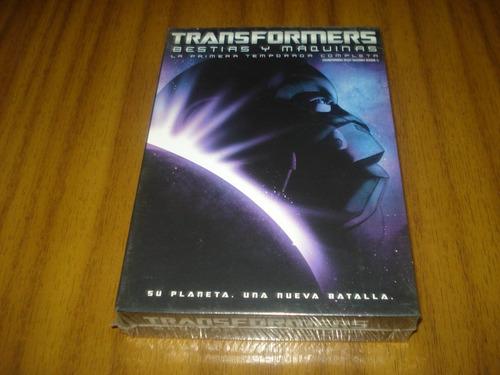 dvd transformers / primera temporada (nueva y sellada) 2 dvd