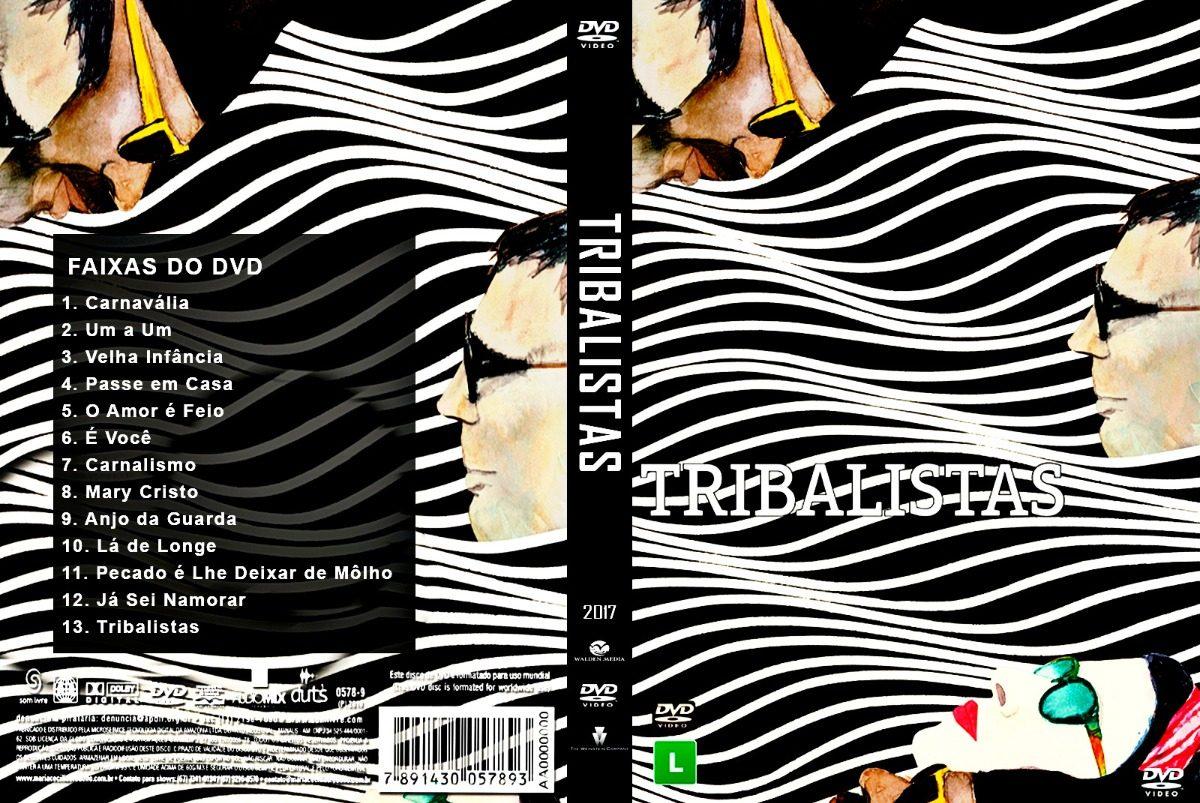 dvd dos tribalistas