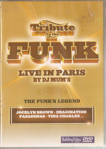 dvd tribute to the funk - live in paris by dj mum's - novo**