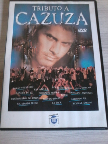 dvd tributo a cazuza-ótimo estado !