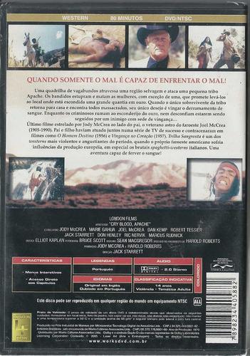 dvd trilha sangrenta ( raro) western collection - lacrado