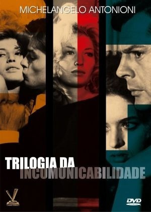 dvd trilogia da incomunicabilidade, box 3 filmes antonioni +